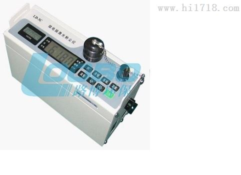 LD-3型微電腦激光粉塵儀技術指標