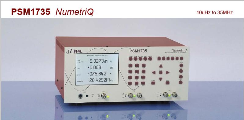 深圳N4L/牛顿PSM 1735频率响应分析仪