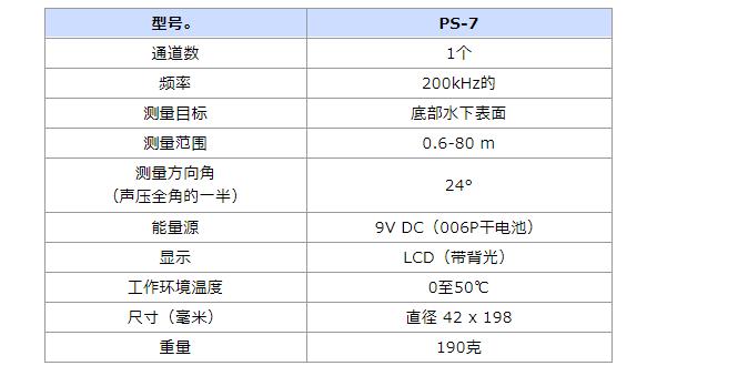 PS-7 PS-7FL便携式手持深度测深仪5技术参数(便携).png
