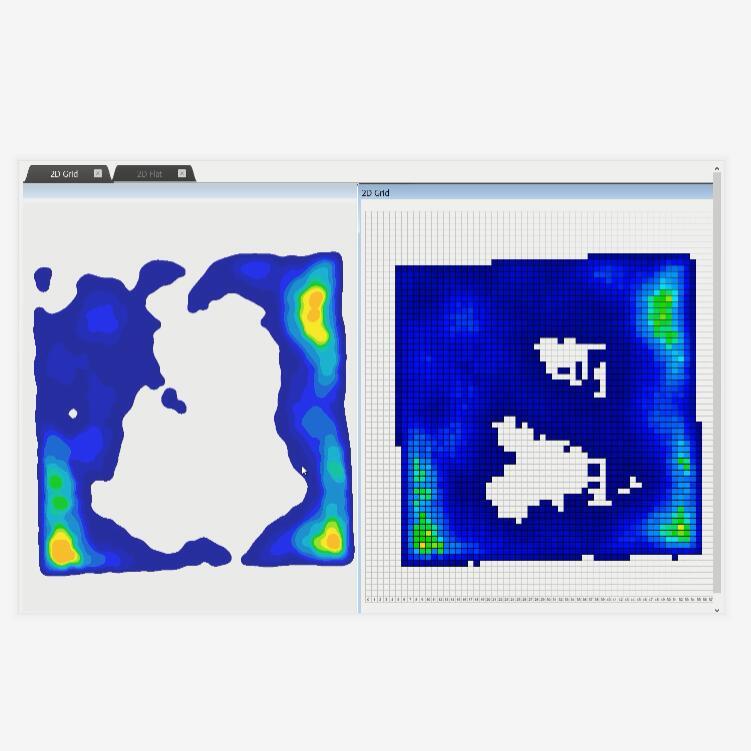 工业自动化面压压力分布实时检测仪